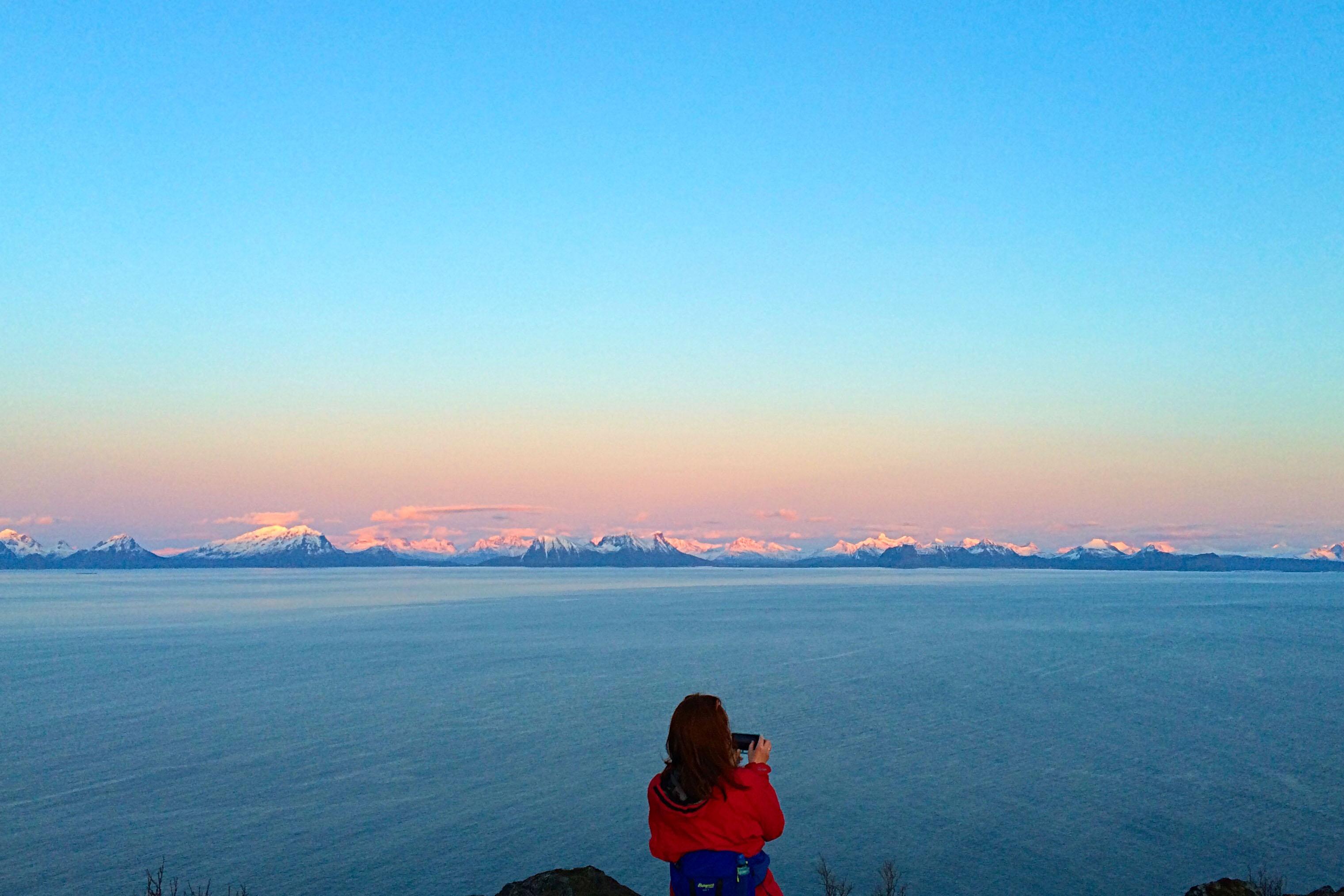 Utsikt fra Skrovafjellet. Foto: Hilde L. Blom
